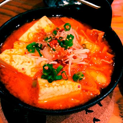 熱々辛味豆腐